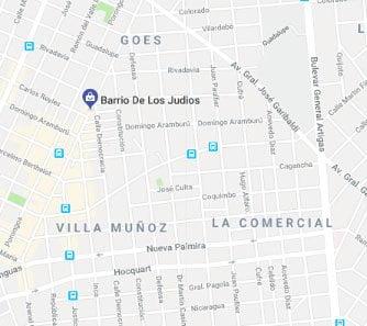 Mapa,barrio de los judios